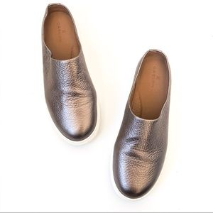 Caslon Metallic Slip On Sneaker Mules